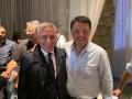 Giorgio Del Ghingaro e Matteo Renzi