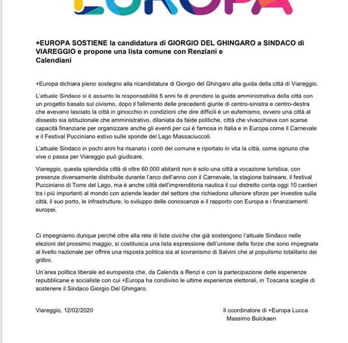 Benvenuti + Europa