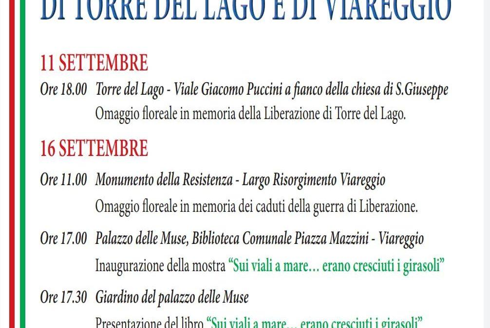 LIBERAZIONE DI VIAREGGIO E TORRE DEL LAGO